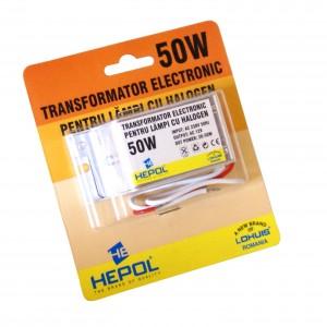 Transformator electronic de tensiune 230 / 12V Lohuis 50W