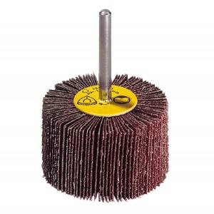Perie abraziva cu tija pentru inox Klingspor KM 615 253610 granulatie 120 30x10x6 mm