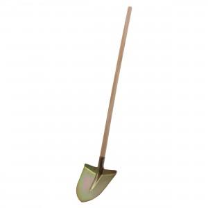 Lopata zincata, Dupu 2738, cu coada lemn