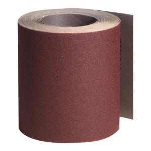 Rola panza abraziva pentru lemn, metale, constructii, Klingspor KL 382 J, granulatie 120, rola 10 m x 120 mm