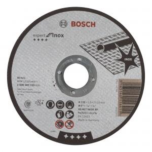 Disc debitare inox, Bosch Expert for Inox, 125 x 22.23 x 1.6 mm