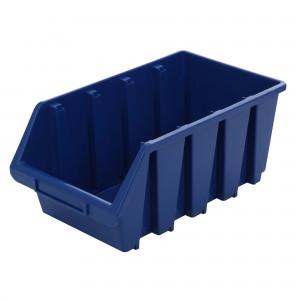 Cutie pentru depozitare, Patrol Ergobox 4, albastru, 204 x 340 x 155 mm