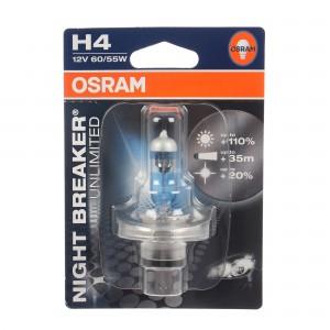 Bec auto Osram H4 Night Breaker, 60/55 W, 12 V