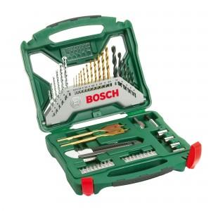 Set 50 accesorii , Bosch X-Line, 2607019327