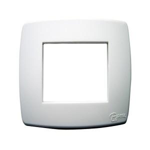 Rama Esperia 300554-01, 2 module, alb