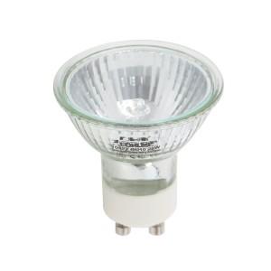 Bec halogen GU10 Lohuis dicroic spot MR 16C 230V 75W lumina calda