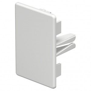Piesa capat WDK 6193226, 40 x 60 mm, alb