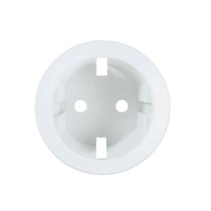 Placa alba priza 2P/2P + T Legrand Celiane 068131, cu contact de protectie