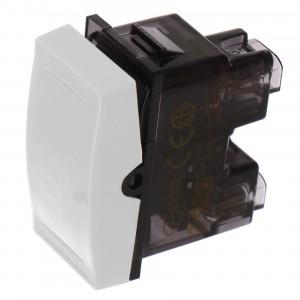 Intrerupator cap scara simplu Esperia 300503, incastrat, modular - 1, alb