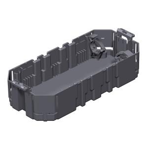 Caseta pentru 2 aparate 7407224, 165 x 76 x 39 mm