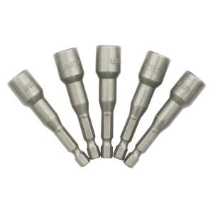 Biti pentru insurubare, chei tubulare, cu coada, Lumytools LT65108, set 5 bucati