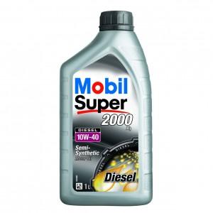 Ulei motor auto Mobil Super Diesel 2000 X1, 10W-40, 1 L