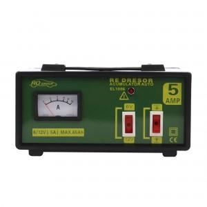 Redresor incarcare acumulatori auto, RoGroup EL1006, 5 A