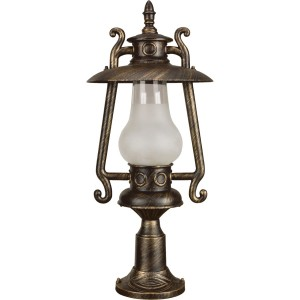 Stalp de iluminat ornamental Petrol 2 KL 5467, 1 x E27, 66 cm