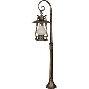 Stalp de iluminat ornamental Petrol 4 KL 5469, 1 x E27, 140 cm