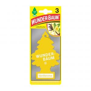 Odorizant auto pachet promo 2+1 Wunder-Baum Vanillaroma