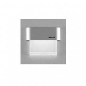 Spot LED incastrat Tango Skoff, 0.80W, aluminiu - alb