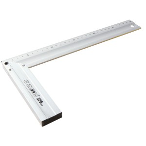Echer din aluminiu, pentru tamplarie, Lumytools LT18360, 300 mm