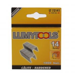 Capse tapiterie, 14 mm, Lumytools LT71051, set 1000 bucati