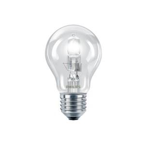 Bec halogen E27 Philips EcoClassic30 standard 230V 28W lumina calda