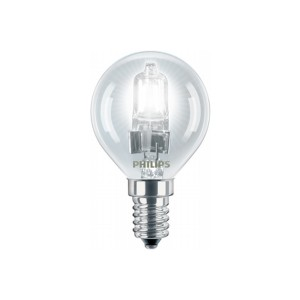Bec halogen E14 Philips EcoClassic30 mini P45 230V 28W lumina calda