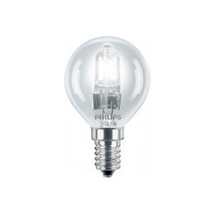 Bec halogen E14 Philips EcoClassic30 mini P45 230V 42W lumina calda