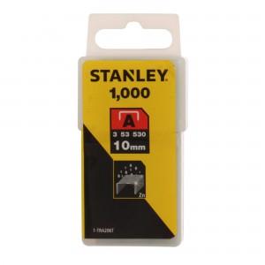 Capse tip A, Stanley, 10 mm, set 1000 bucati