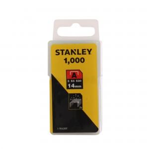 Capse tip A, Stanley, 14 mm, set 1000 bucati