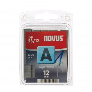 Cleme subtiri, Novus A 53, 12 mm, set 1000 bucati