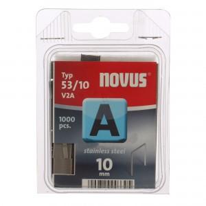 Cleme subtiri, Novus A 53, 10 mm, set 2000 bucati
