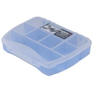 Organizator Patrol Domino 19 Soft  Blue, 190 x 155 x 37 mm