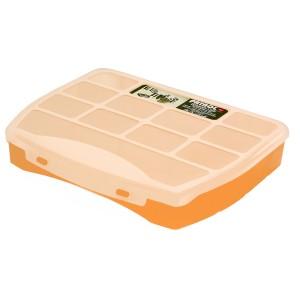 Organizator Patrol Domino 25 Soft  Orange, 250 x 200 x 44 mm