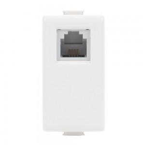 Priza telefon RJ11 1 modul Matix SAM5958C11NE