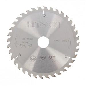 Disc circular pentru lemn Hitachi 752417 165x30/20 Z36
