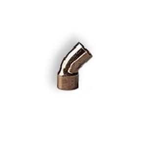 Curba cupru 5040,  45 grade,  filet interior-exterior, D28 mm