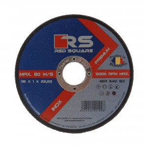 Disc debitare inox, Red Sqare, 115 x 22.2 x 1 mm
