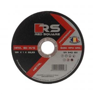 Disc debitare metal, Red Square, 125 x 22.2 x 1 mm