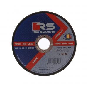 Disc debitare inox, Red Square, 125 x 22.2 x 1.5 mm