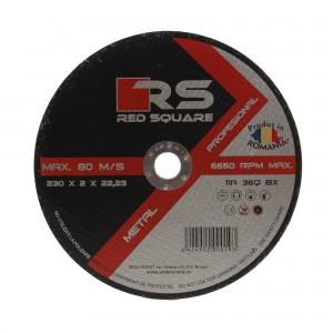 Disc debitare metal, Red Square, 230 x 22.2 x 2 mm