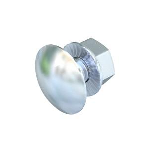 Surub cap rotund FRS 10 x 25 F TPS 6407536, otel, M10 x 25 mm