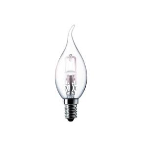 Bec halogen E14 Philips EcoClassic30 BXS352800 lumanare 230V 28W lumina calda