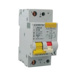 Intrerupator automat modular diferential Comtec JVL5 18211 1P+N 10A
