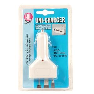 Incarcator auto All Ride pentru USB , 12 V