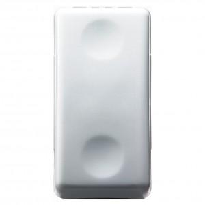 Intrerupator simplu Gewiss System GW20571, incastrat, modular - 1, alb