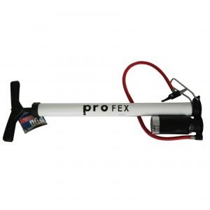 Pompa manuala Profex, cu manometru, aluminiu