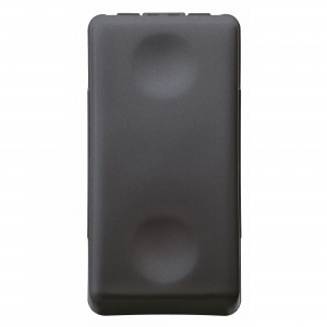Intrerupator cap scara Gewiss System GW21576-1BL, incastrat, modular - 1, negru