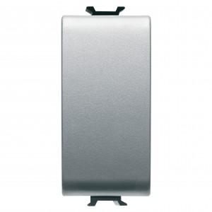Intrerupator simplu Gewiss Chorus GW14001-1BL, incastrat, modular - 1, gri-titan