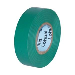 Banda izolatoare Lohuis verde 10 m x 0.15 mm x 19 mm
