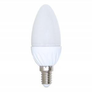 Bec LED Hepol lumanare E14 4W lumina calda