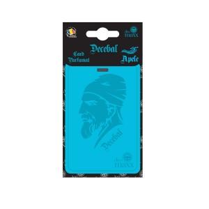 Odorizant auto, card, Decebal, Apele, 3 x 7.5 x 15.5 cm